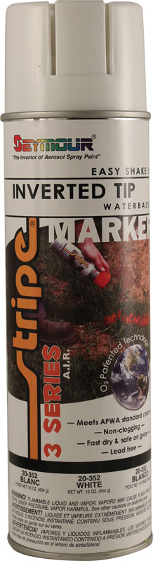 Seymour 3 Series White Inverted Marking Paint 20 oz (Can)