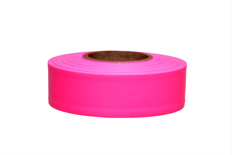 PRESCO Texas Pink Glo Roll Flagging (Dozen)