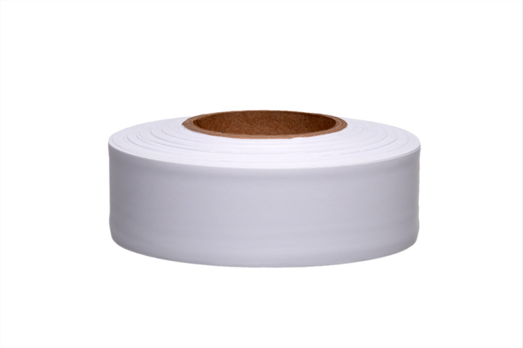 Solid White Roll Flagging (Dozen)
