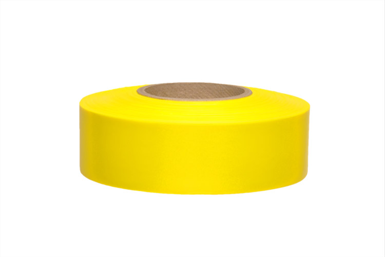 Yellow Glo Roll Flagging (Dozen)