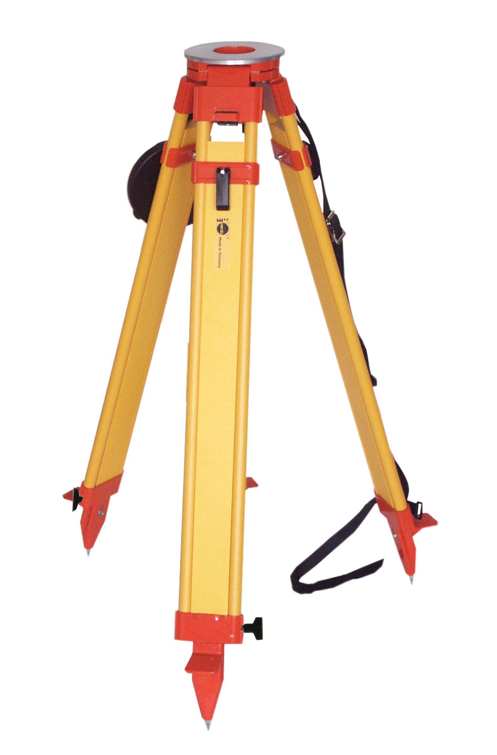 NEDO Surveyors Grade Wooden Tripod with Dual Clamps