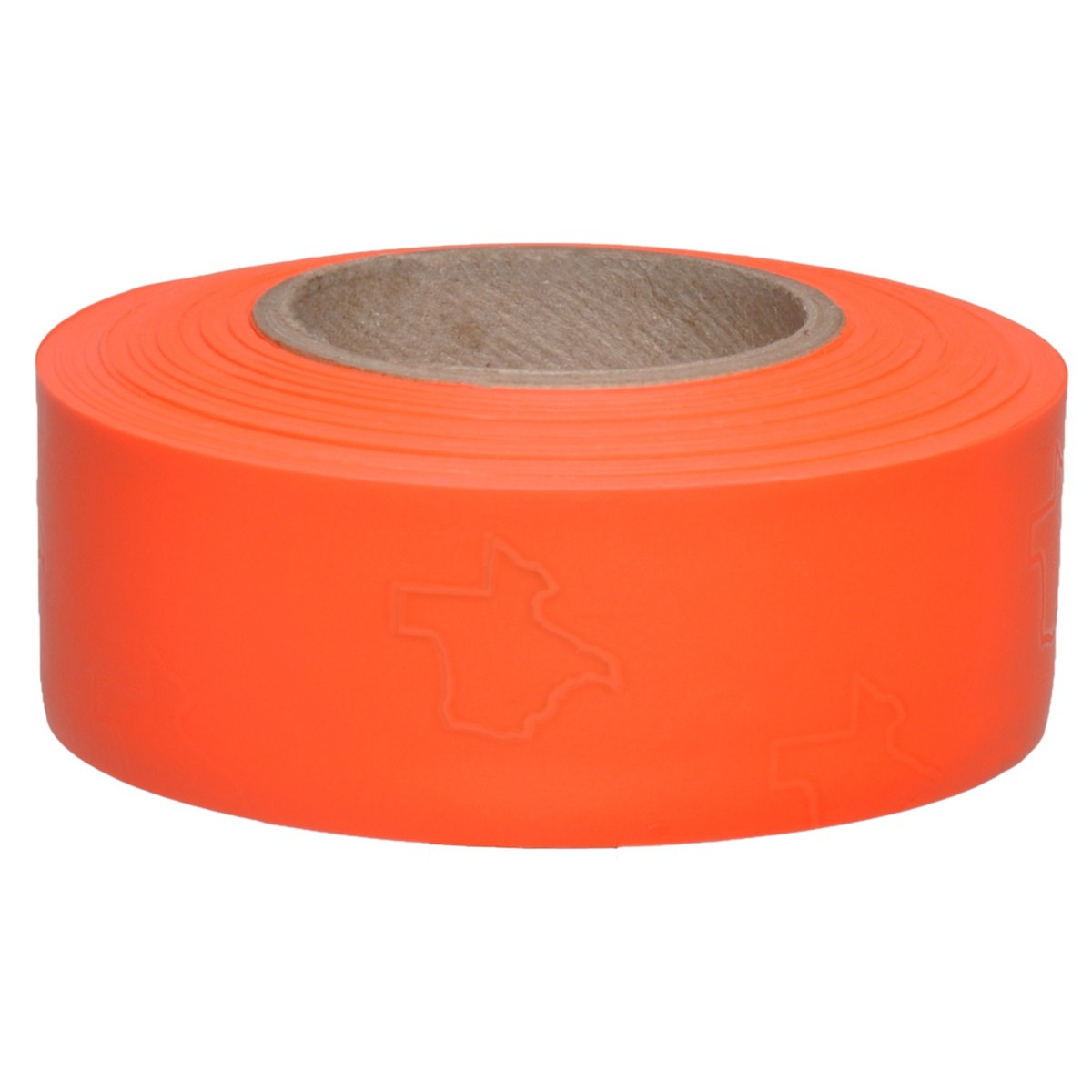 PRESCO Texas Orange Glo Roll Flagging (Dozen) 811201