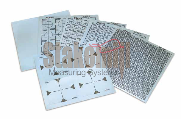 sokkia reflective sheet targets rs70n 70x70mm 9 sheet sokkia