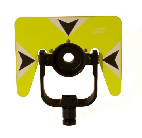 GeoMax Rear Locking Yellow Econo Tilting Prism Mount