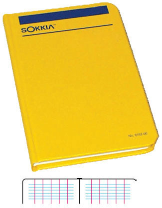 Sokkia Level Field Book 815250