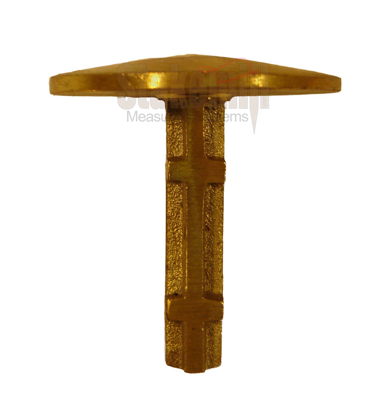 2 Inch Brass Survey Marker Dome Top 813413