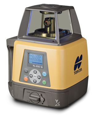 Topcon RL-200 1S Single Slope Rotary Laser Level Pro Package