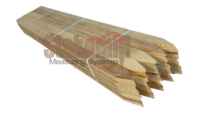 36 inch Hardwood Survey Lath