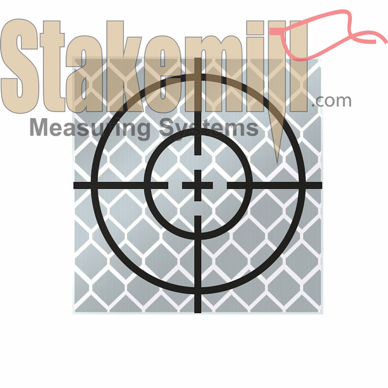 30MM Reflective Retro Target - Stick On (Set 10)