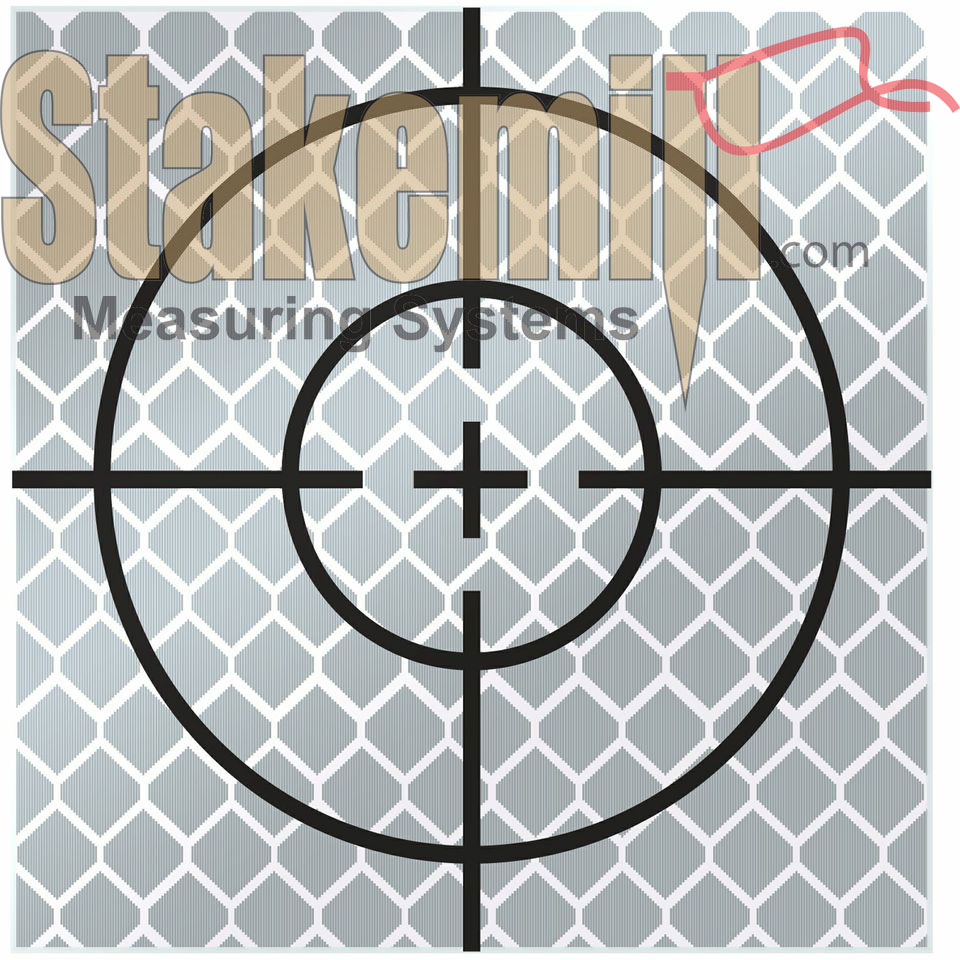 70MM Reflective Retro Target - Stick On (Set 10)