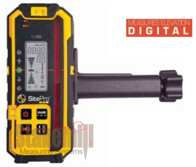 SitePro - Rotary Laser Detector with Digital Increments RD205