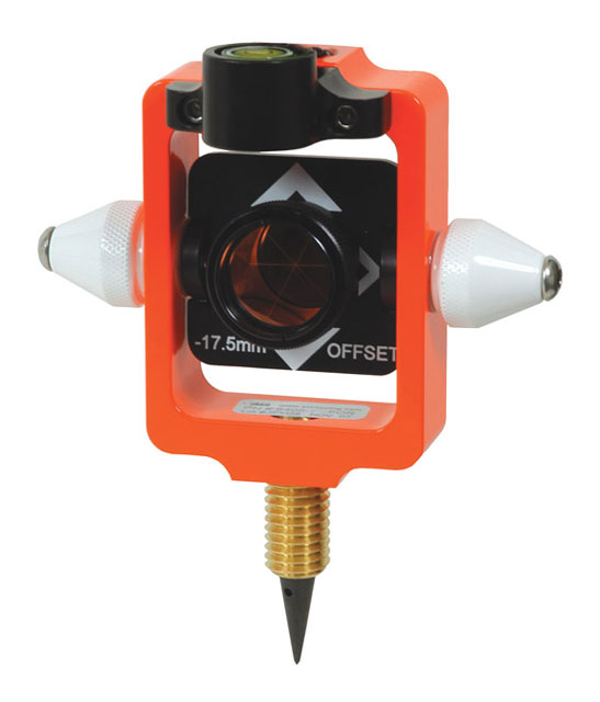 SECO Nodal Point Stakeout Mini Prism with Site Cones 6405-12