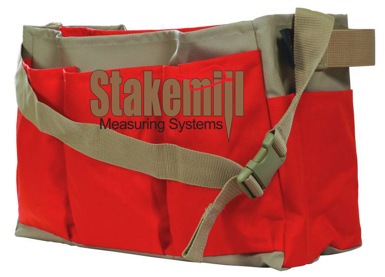 SECO Heavy Duty 18 Inch Bag w/Partition 8091-20-ORG