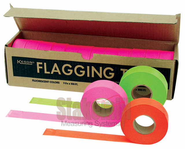 Trinity Tape Solid Flagging Tape - BLUE GLO