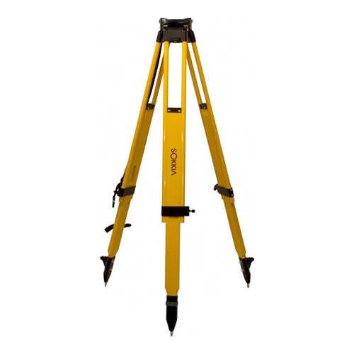 Sokkia HD Wood Large Head Tripod Dual Locks 7242-52