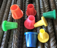 Survey Plastic Markers for Rebar