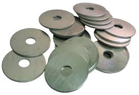 "Aluminum 1-1/2 Inch HD Washer Disc 3/32"" Thick"
