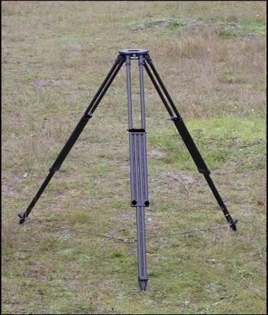 Dutch Hill Stakemill Military Tripod Black Out Version Gov't Use