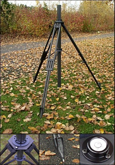 Dutch Hill Military Tripod MIL3300 Blackout Tripod