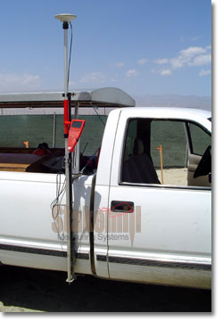 GPS Truck Side Mounted Antenna Carry Bracket