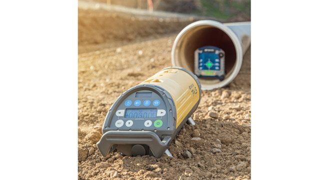 Topcon TP-L5B Pipe Laser Package (Green Beam)