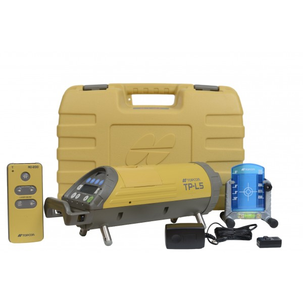 Topcon TP-L5G/L Pipe Laser Package, LED Plumb (Green Beam)
